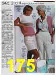 1988 Sears Spring Summer Catalog, Page 175
