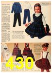 1962 Sears Fall Winter Catalog, Page 430