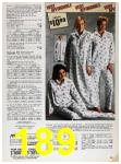 1985 Sears Fall Winter Catalog, Page 189