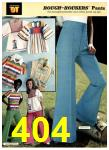 1977 Sears Spring Summer Catalog, Page 404