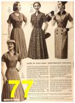 1956 Sears Fall Winter Catalog, Page 77