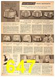 1958 Sears Spring Summer Catalog, Page 647