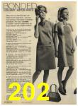 1968 Sears Fall Winter Catalog, Page 202