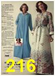 1976 Sears Fall Winter Catalog, Page 216