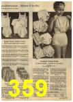 1961 Sears Spring Summer Catalog, Page 359