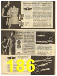 1965 Sears Fall Winter Catalog, Page 186