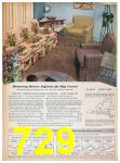 1957 Sears Spring Summer Catalog, Page 729