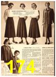 1949 Sears Spring Summer Catalog, Page 174