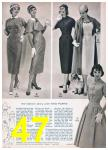 1957 Sears Spring Summer Catalog, Page 47