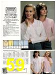 1982 Sears Fall Winter Catalog, Page 59