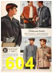 1958 Sears Fall Winter Catalog, Page 604