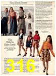1973 Sears Fall Winter Catalog, Page 316