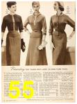 1956 Sears Fall Winter Catalog, Page 55
