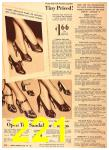 1940 Sears Fall Winter Catalog, Page 221