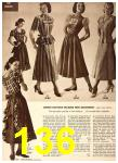 1949 Sears Spring Summer Catalog, Page 136