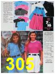 1991 Sears Spring Summer Catalog, Page 305