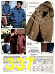 1983 Sears Fall Winter Catalog, Page 337