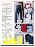 1983 Sears Fall Winter Catalog, Page 463