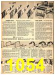 1949 Sears Spring Summer Catalog, Page 1054
