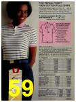 1981 Sears Spring Summer Catalog, Page 59