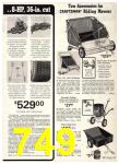 1974 Sears Spring Summer Catalog, Page 749