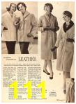 1960 Sears Fall Winter Catalog, Page 111
