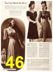 1940 Sears Fall Winter Catalog, Page 46