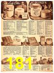1940 Sears Fall Winter Catalog, Page 181