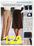 1985 Sears Fall Winter Catalog, Page 129