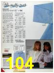 1986 Sears Fall Winter Catalog, Page 104