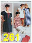 1985 Sears Spring Summer Catalog, Page 261