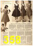 1956 Sears Fall Winter Catalog, Page 358
