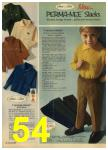 1968 Sears Fall Winter Catalog, Page 54