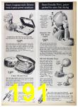1967 Sears Fall Winter Catalog, Page 191