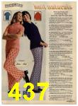 1972 Sears Fall Winter Catalog, Page 437