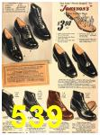 1940 Sears Fall Winter Catalog, Page 539