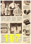 1962 Sears Fall Winter Catalog, Page 197