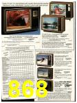 1982 Sears Fall Winter Catalog, Page 868