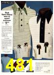 1975 Sears Spring Summer Catalog, Page 481
