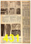 1962 Sears Fall Winter Catalog, Page 431