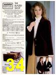 1982 Sears Fall Winter Catalog, Page 34