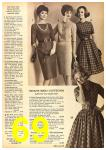 1962 Sears Fall Winter Catalog, Page 69