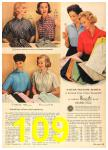 1958 Sears Spring Summer Catalog, Page 109