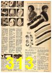 1962 Sears Fall Winter Catalog, Page 313