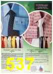 1972 Sears Spring Summer Catalog, Page 537