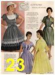1960 Sears Spring Summer Catalog, Page 23