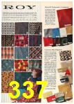 1962 Sears Fall Winter Catalog, Page 337