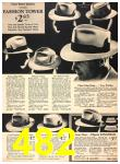 1940 Sears Fall Winter Catalog, Page 482