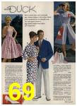 1962 Sears Spring Summer Catalog, Page 69