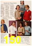 1963 Sears Fall Winter Catalog, Page 150